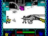 Shanghai Warriors ZX Spectrum ... as if by magic on walks the replacement