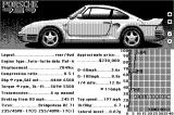 The Duel: Test Drive II Macintosh Car selection - Porshce 959