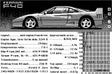 The Duel: Test Drive II Macintosh Car selection - Ferrari F40