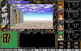 Jinn: Eternal Hero PC-98 Even such big cities still have bland pseudo-3D graphics...