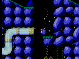 Sonic the Hedgehog 2 SEGA Master System Shot out of tube