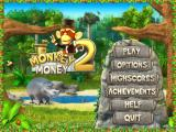 Monkey Money 2 Windows Title and main menu