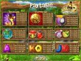 Monkey Money 2 Windows The paytable