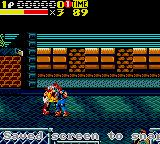 Streets of Rage 2 Game Gear Skate Beat Down