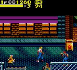 Streets of Rage 2 Game Gear Axel