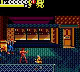 Streets of Rage 2 Game Gear Blaze