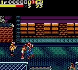 Streets of Rage 2 Game Gear Skate's got 'em