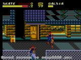 Streets of Rage 2 SEGA Master System Skate attacks