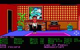 Maniac Mansion DOS Bernard in the den (Enhanced version, EGA)