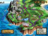 Zoombinis: Island Odyssey Windows Map of the island (Swedish)