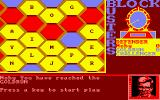 Blockbusters Amstrad CPC When two games have been won the player gets a chance at the Gold Run game