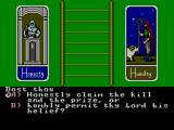 Ultima IV: Quest of the Avatar SEGA Master System Character generator