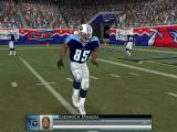Madden NFL 2004 Windows Derrick Mason practices route-running.
