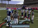 Madden NFL 2004 Windows The coin toss.