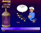 Akinator Browser Starting questions are usually very generic.