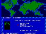 Where in the World is Carmen Sandiego? SEGA Master System Map screen