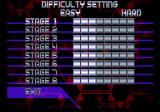 RayStorm SEGA Saturn The first time I see a game that lets you customize the difficulty for each stage separately.