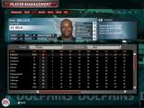 Madden NFL 06 Windows Player Management, where rosters and players can be viewed and edited