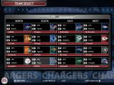 Madden NFL 06 Windows Selecting teams for Franchise Mode