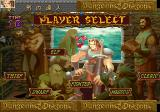 Dungeons & Dragons Collection SEGA Saturn Character selection (Shadow over Mystara)