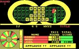 Wheel of Fortune: Golden Edition DOS I solved the puzzle! Applause!