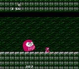 Rad Action NES Underground level. This funny thing jumps all over and causes much trouble at later levels
