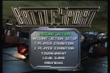 Battlesport 3DO Main menu