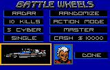 BattleWheels Lynx The game is very customizable