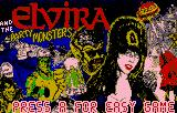Pinball Jam Lynx Elvira title screen