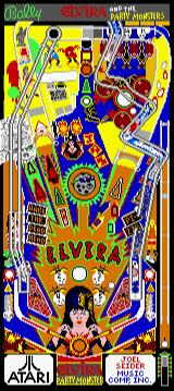 Pinball Jam Lynx Elvira and the Party Monsters (full table)