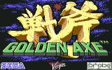Golden Axe Commodore 64 Title