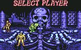 Golden Axe Commodore 64 Select Player
