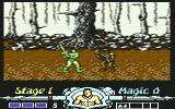 Golden Axe Commodore 64 Stage 1