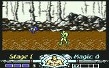 Golden Axe Commodore 64 Get the blue thief