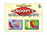 Yearn2Learn: Master Snoopy's World Geography Windows 3.x World Geography is actually just the states of the USA. This is the sub menu that allows the player to select the difficulty level
