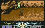 Golden Axe Commodore 64 Jumping
