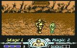Golden Axe Commodore 64 Boss #1