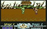 Golden Axe Commodore 64 Stage 2