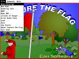 Capture the Flag DOS menu