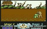 "Golden Axe Commodore 64 ""Kneel before me"""