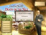 Agatha Christie: Death on the Nile Macintosh Player name