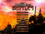 Warrior Kings: Battles (Collector's Edition) Windows After an introductory cut scene intro the player is presented with the game's main menu. This 'Collectors Edition' installs as version 1.0