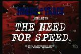 The Need for Speed 3DO Title screen.