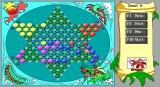 Chinese Checkers DOS messy table