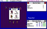 Tunnels & Trolls: Crusaders of Khazan DOS The Party menu in battle lets you choose between automatic computer-controlled fighting or manual fighting