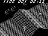 "Vectorball ZX Spectrum The start of a game in ""Wave City"""