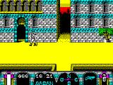 Tuareg ZX Spectrum With the guard out of the way the player can enter the building