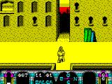 Tuareg ZX Spectrum The player can travel down the alleys as well as along the streets