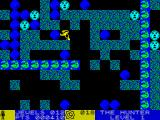 Rockford: The Arcade Game ZX Spectrum Rockford can push blue rocks around - as long as the adjacent cell is empty
