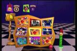 Twisted: The Game Show 3DO The playing contestant secretly picks a vertical row, and an opponent picks a horizontal.  Where they meet selects the next minigame.